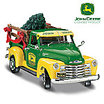 1:25 John Deere 1950 Chevy Bringing Home the Tree Diecast Truck