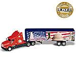 1:64 ERTL Diecast Semi Truck: Spirit Of Liberty Patriotic Collectible
