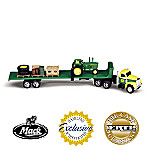 1:64 John Deere 2510 Tractor And Mack Truck Diecast
