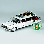 1:21 Ghostbusters(TM) Ecto 1 Diecast Car
