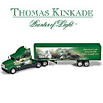 Thomas Kinkade A Truckers Prayer Diecast Collectible Truck