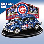 Chicago Cubs Major League Baseball VW Beetle Diecast Car