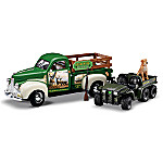 1:25 Scale John Deere Sunrise At The Reserve Collectible Diecast 1947 Studebaker Truck
