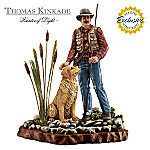 Thomas Kinkade It Doesn't Get Much Better Than This Fisherman Figurine