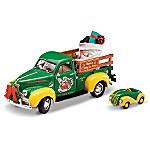 John Deere Santa Diecast Truck