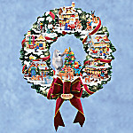 Rudolph's Christmas Town Collectible Wreath
