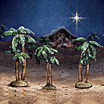 Holy Night Nativity Scene Accessory Figurine Set: Palm Trees