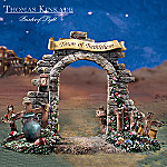 Thomas Kinkade Bethlehem Gate Nativity Scene Accessory Figurine