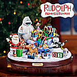 Rudolph's Countdown To Christmas Figurine With Classic Movie Characters: Advent Calendar