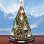 Visions Of The Blessed Virgin Mary Lighted Religious Tabletop Sculpture: Christian Decoration