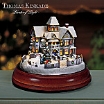 Thomas Kinkade Victorian Lights: Christmas Day House