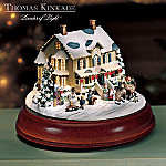 Thomas Kinkade Home For The Holidays House