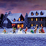 Frosty Frolic Winter Village Accessory Set