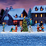 Light Up The Holidays Village Accessory Set
