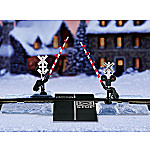 Winter Crossing Gate And Block HO Scale Model Train Accessory