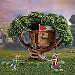 Miniature Village Figurine Accessory: Take A Bough Tree House Set