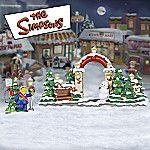 The Simpsons Gate Collectible Village Accessory Figurines
