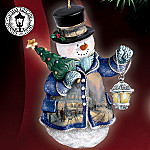 Thomas Kinkade Winter Wonderland Ornament Set One