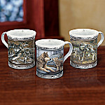 Spirit of the Pack 3 Piece Wolf Mug Set