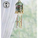 Thomas Kinkade Garden Of Prayer Indoor Wind Chime