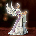 My Grandson, My Joy Porcelain Guardian Angel Figurine Gift