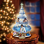 Elvis Presley's Blue Christmas Tabletop Christmas Tree