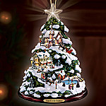 Thomas Kinkade Yuletide Greetings Ornament