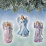 Angelic Inspirations Heirloom Porcelain Ornaments: Set One