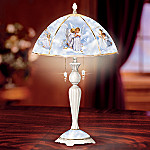 Sandra Kuck Angel Art Table Lamp: Heaven Sent Angels