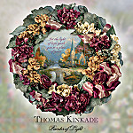 Collectible Thomas Kinkade Chapel Inspirations Wreath