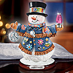 Snow Groove Retro Style Collectible Snowman Figurine