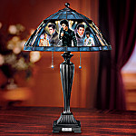 Elvis Presley The King Of Rock 'n' Roll Table Lamp