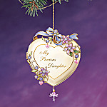 My Precious Daughter Heart-Shaped Christmas Tree Ornament Keepsake Gift