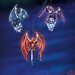 Dragons Of The Crystal Powers Collectible Dragon Ornaments: Set One