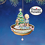Precious Moments All Wrapped Up In The Holidays Illuminated Animated Ornament