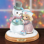 Precious Moments Sno One Cares Like A Nurse With Snowman Figurine: Collectible Nurse Gift