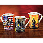A Legacy Of Courage Firefighter Tribute Mug Collection: Set One