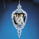 Elvis Presley Crystal Reflections Ornament