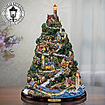Thomas Kinkade Harbor Village Lighthouse Tree: Collectible Lighthouse Home Decor