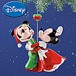 Christmas Morning Disney Ornament: 2008 Disney's Mickey And Minnie Mouse Ornament