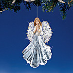 Crystal Blessings Collectible Keepsake Angel Crystal Christmas Ornament