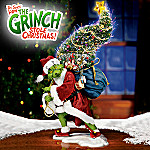 Dr. Seuss' The Grinch Sculpture: How The Grinch Stole Christmas Home Decor