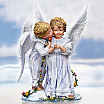 Sandra Kuck's Angel Kisses Collectible Child Angel Figurine