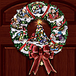 Meowy Christmas Wreath: Cat-Themed Christmas Decoration