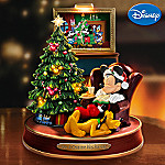 Not A Creature Was Stirring: Disney Mickey Mouse Christmas Musical Figurine