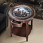 Heroes Of The Civil War Accent Table: Civil War Home Decor