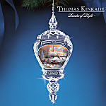 Thomas Kinkade Holiday Reflections 2005 Annual Ornament