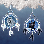 Dream Spirits Dreamcatcher Ornament Set One