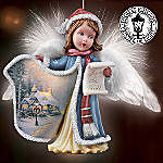 Thomas Kinkade Angel Voices Ornament Set One