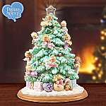 Precious Moments Illuminated Artificial Tabletop Angel Christmas Tree